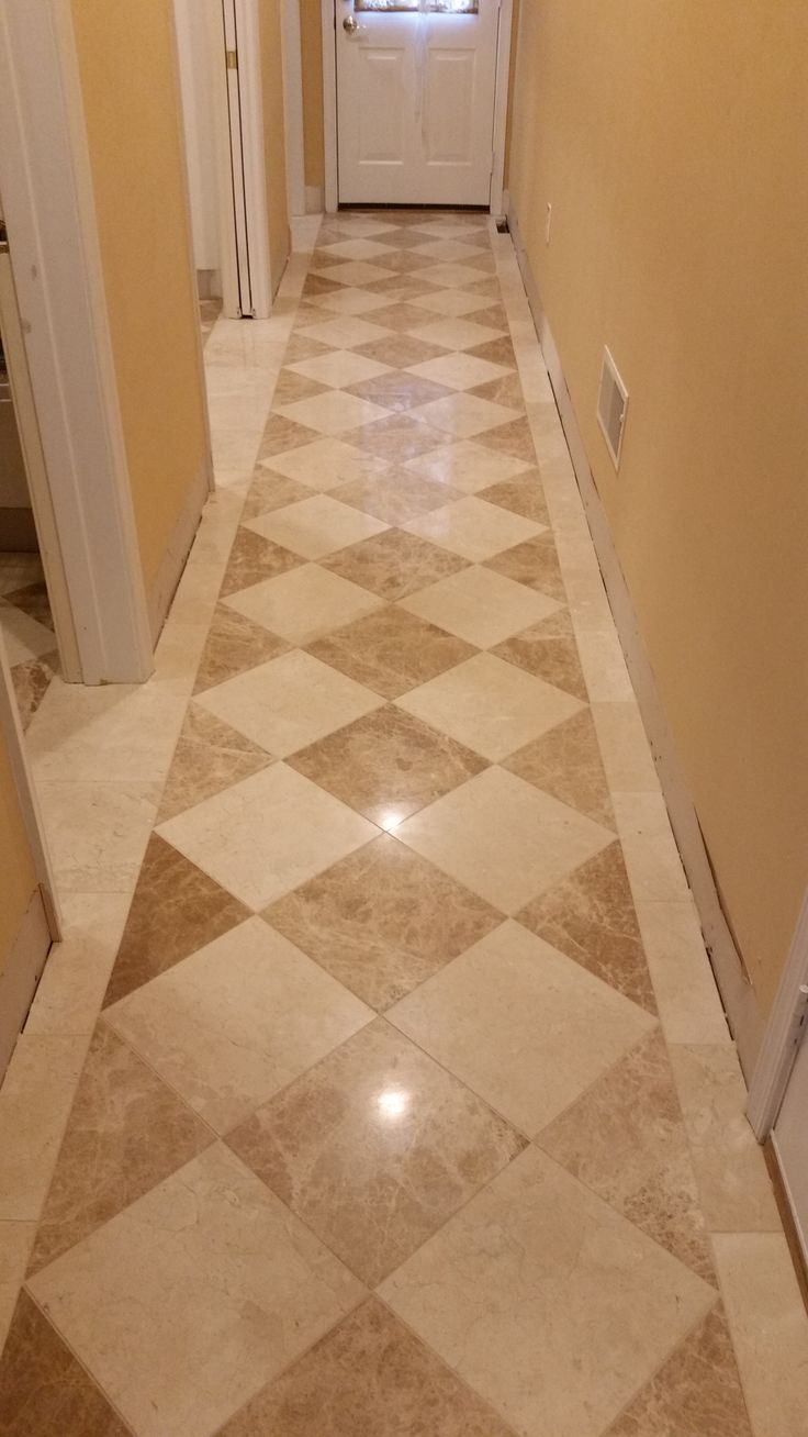 27 best flooring images on pinterest homes artistic tile and flooring and installation from north hills flooring beautiful ceramic tile in a hallway crema dailygadgetfo Images