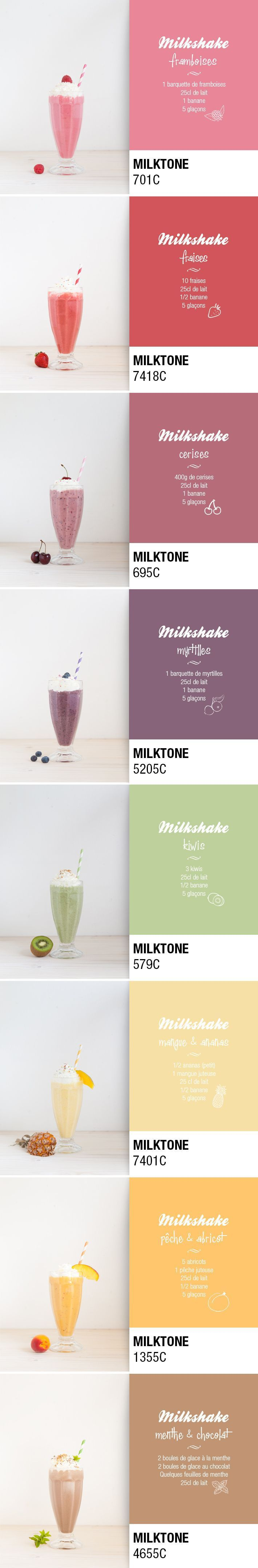 One milkshake a day... Ma palette de vitamines