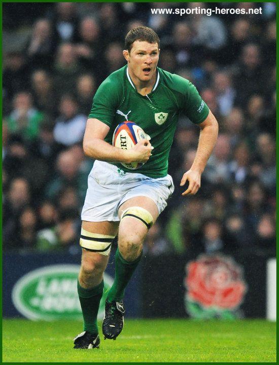 Donnacha RYAN - International Rugby Union Caps for Ireland ...