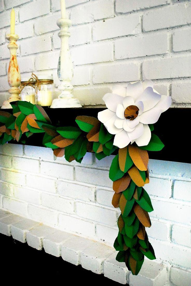 25 Best Ideas About Leaf Garland On Pinterest Diy