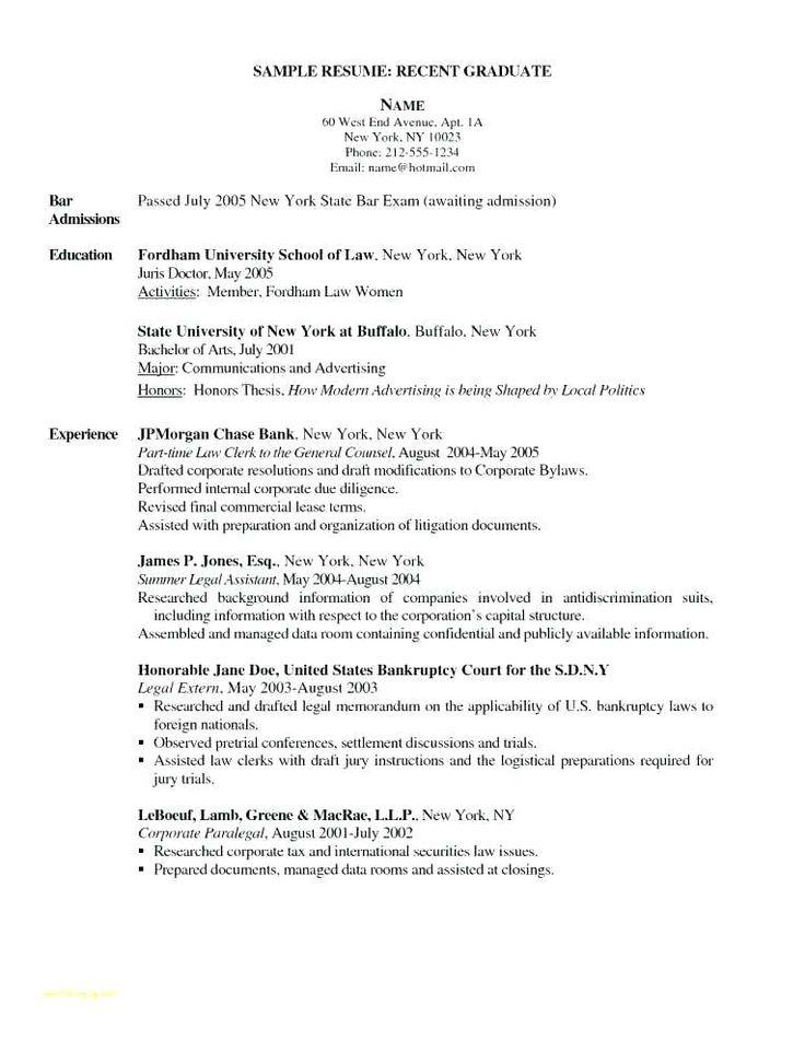 sample of resume letter resume sample job