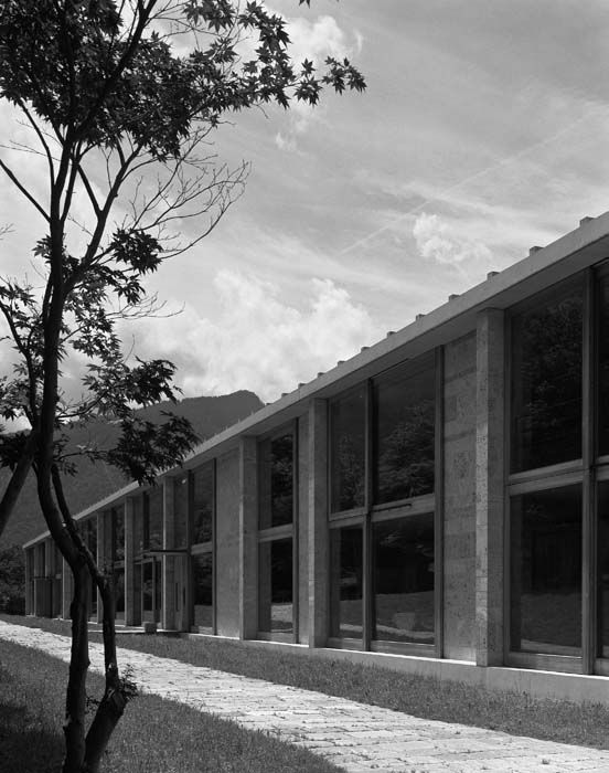 Buildings and Projects by Peter Zumthor : 1993: Homes for Senior Citizens in Masans, Graubünden, Switzerland