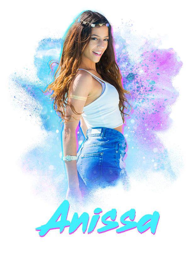 Anissa a pour projet professionnel de devenir mannequin !