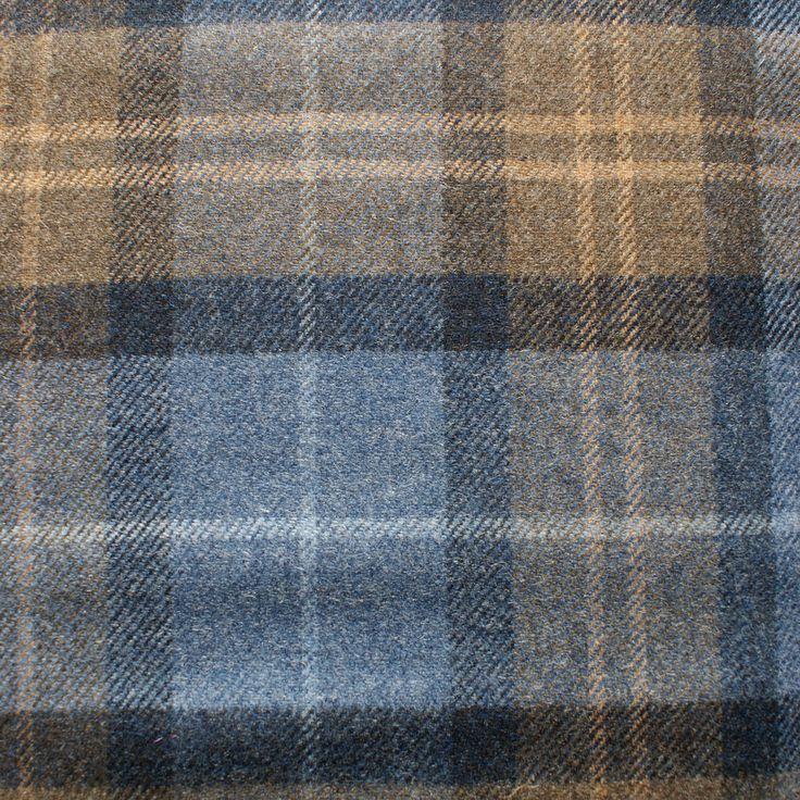 Wool Plaid (2.70m £39.37) - Robert Noble