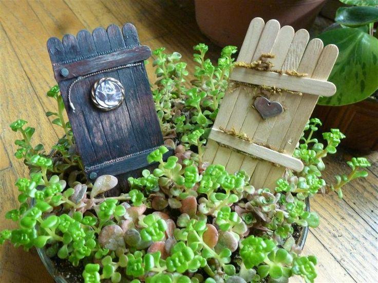 17 Best Ideas About Fairy Garden Doors On Pinterest