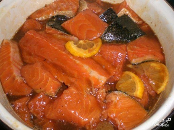 Шашлык из лосося / Едальня