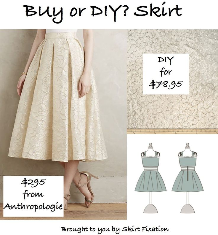 Skirt Fixation shows you how to wear Anthropologie and save over $200!