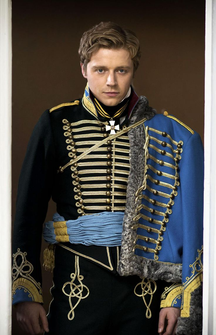 Jack Lowden for War and Peace                                                                                                                                                                                 More