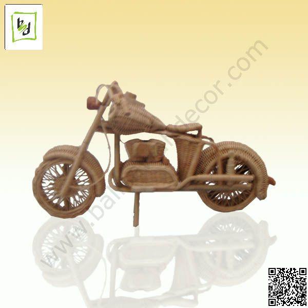 Harley Miniature rattan by #balisawahdecor