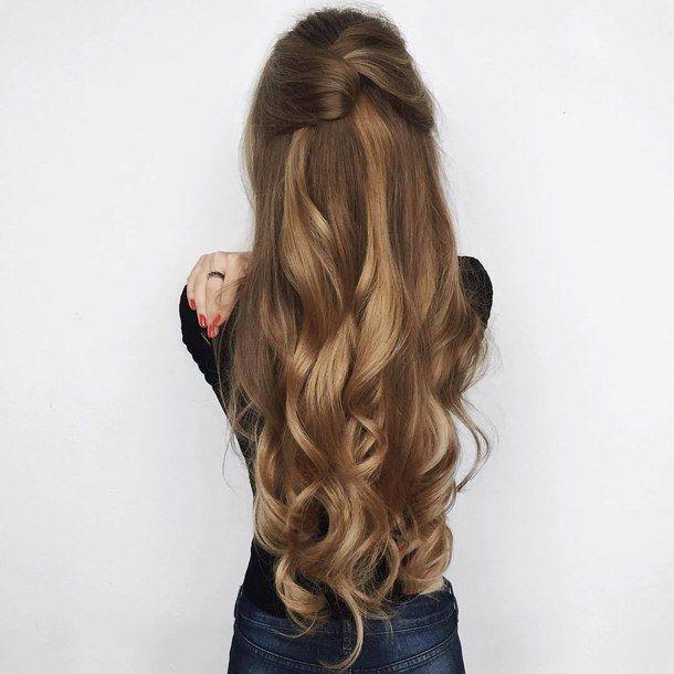 cabello largo hair style long hair cabello fashion