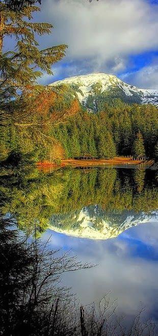 Ward Lake in Ward Cove, Ketchikan, Alaska