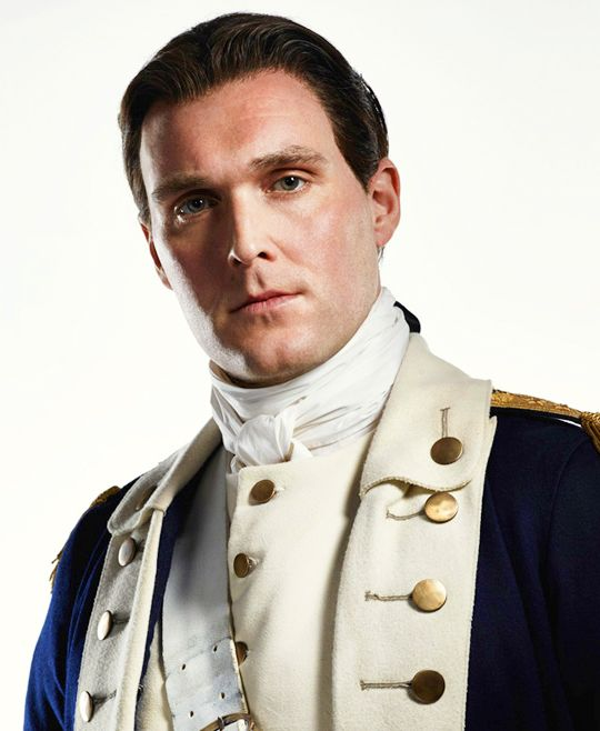Owain Yeoman as Benedict Arnold in Season 2 of TURN: Washington's Spies