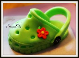 Baby Crocs Shoe Tutorial & Free Template