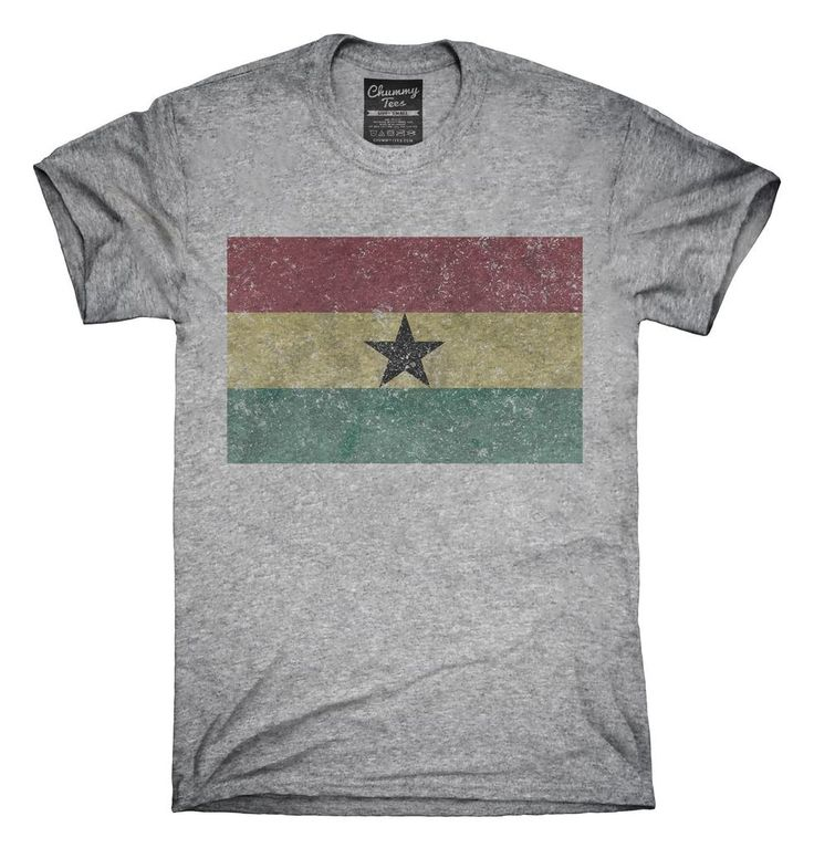 Retro Vintage Ghana Flag T-Shirt, Hoodie, Tank Top