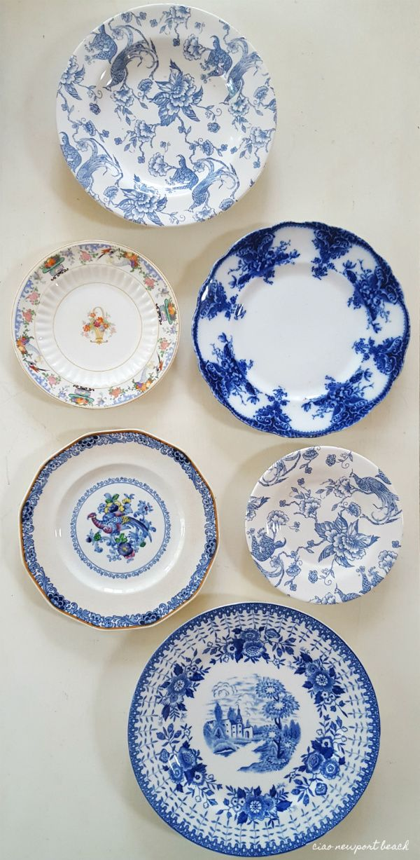 One of my weaknesses is vintage English bone china. I'm always on the look-out... I LOVE to collect plates and dishes, and boy did I find some treasures today!!
