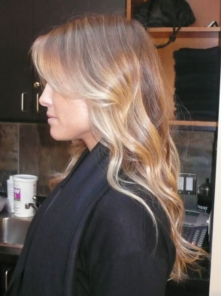 Box No. 216: Beautiful blonde balayage ombre