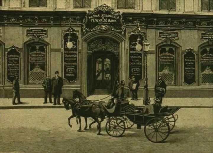 Magyar Leszámítoló és Pénzváltó Bank, 1869-1949, Budapest, Dorottya utca 6.