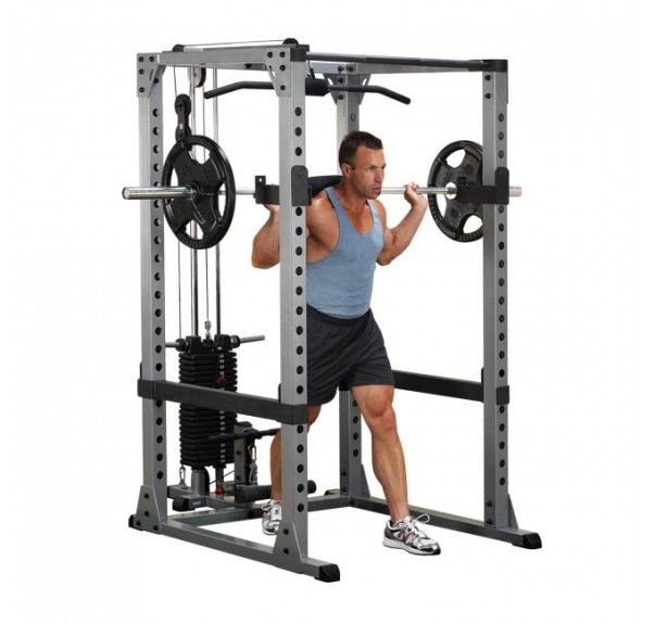 Body-Solid Pro Power Rack Set GPR378S
