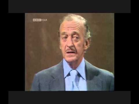 David Niven Interview Parkinson Interview David Niven