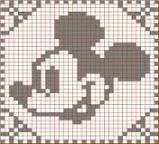 「方眼編み アルファベット 編み図」の画像検索結果