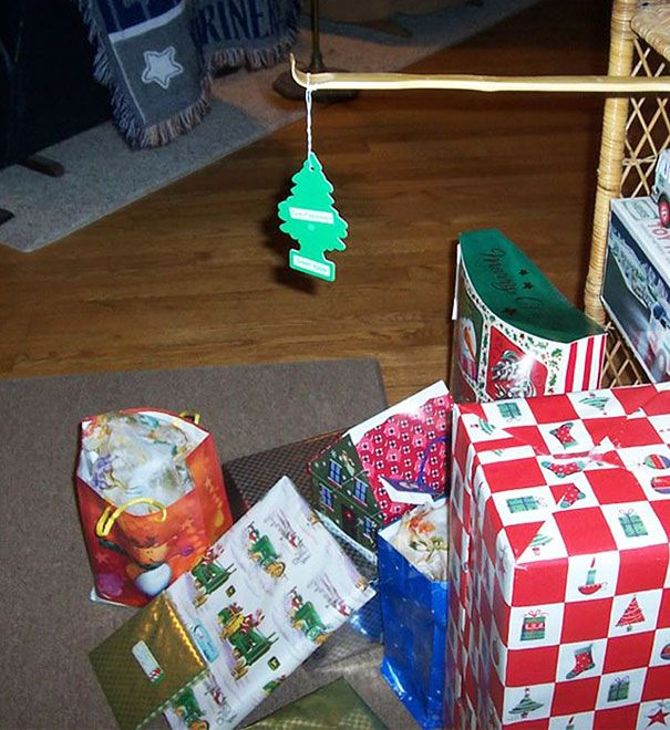 the lazy christmas tree, just in case you're in a pinch