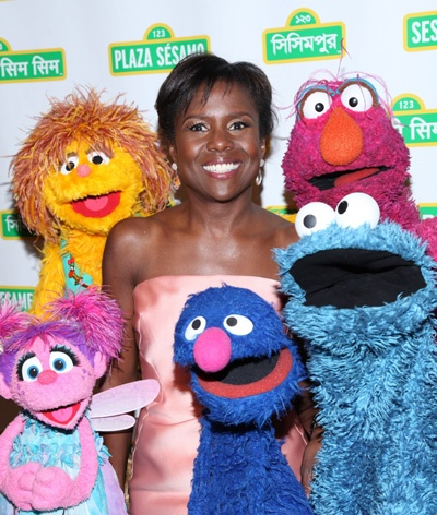 Muppets walk the red carpet at the Sesame Workshop Gala