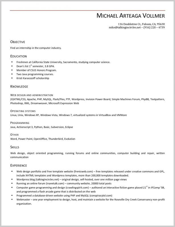Windows 7 Resume Templates Pinterest Resume templates