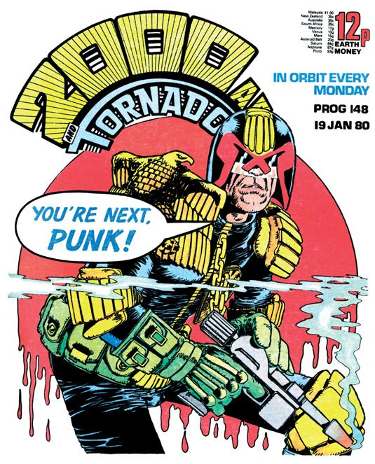 The art of Judge Dredd: 20 killer 2000 AD covers | Creative Bloq