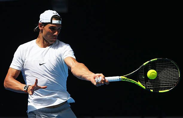 best clay court tennis player , Rafael Nadal, New babolat