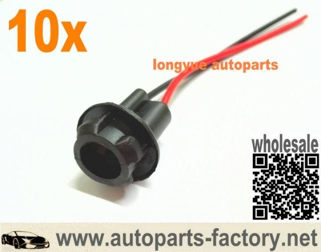 Pin On Longyue 10pcs Gm Chevrolet Side Marker Light Bulb Socket Ass 194 194a T10 168 T10 T15