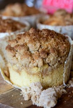 New YorkStyle Coffee Cake Crumb Muffins