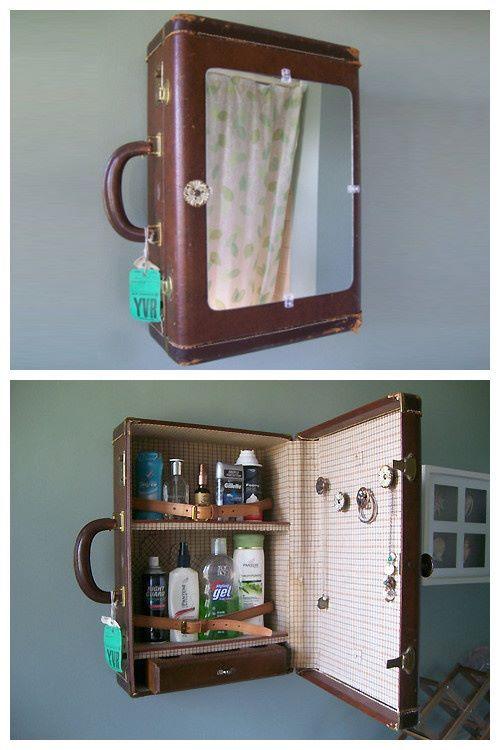 ¿Una vieja maleta o un mueble vintage?                                                                                                                                                     Más