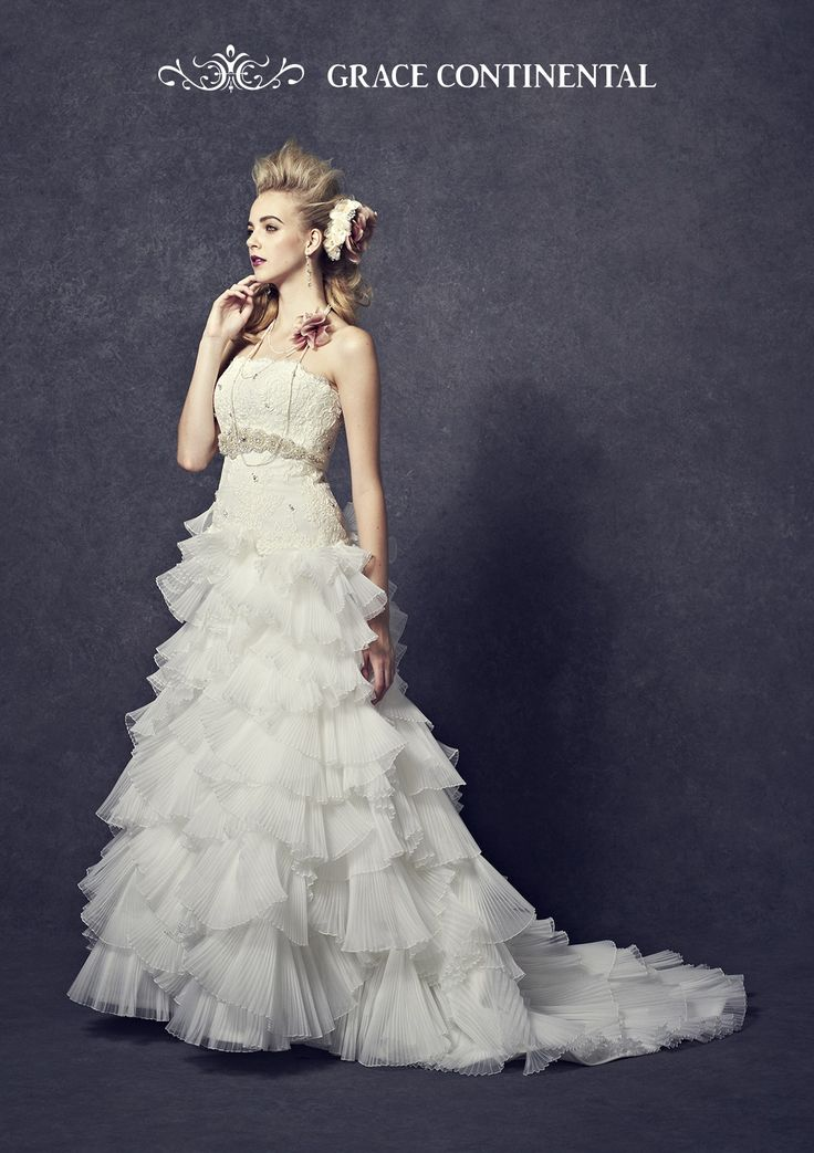 グレースコンチネンタル ウェディングドレス 20052 | ウエディングドレスのレンタルなら愛ロイヤルウェディング
