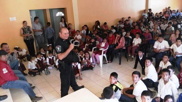 La Policía Estatal Única concluyó la Semana de Prevención en Guadalupe y Calvo | El Puntero
