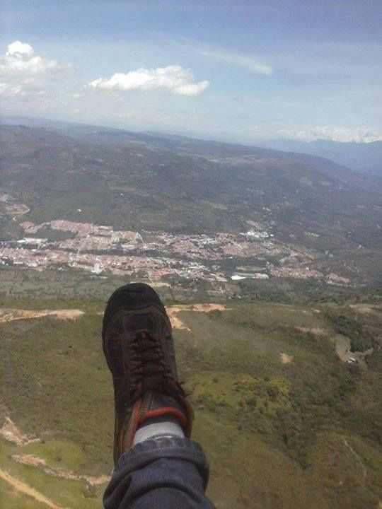 San Gil Santander Vista desde parapente