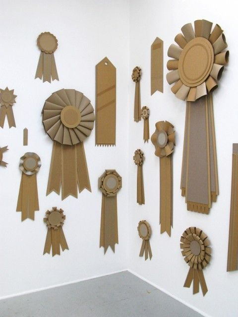 We could award ourselves all sorts of accolades in the front window ladies - brown paper prizes