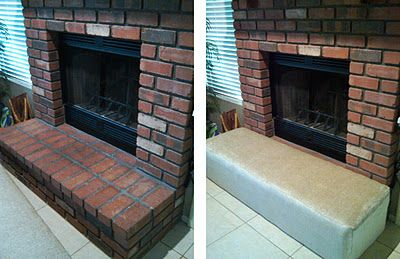inexpensive  bench  amp  shoe the kids protects extra and makes from seating the cover easy  running   DIY hearth fireplace