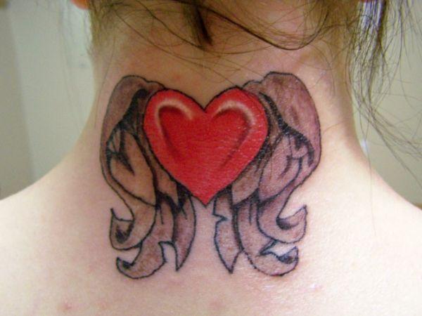 die besten 25 herz mit fl geln tattoo ideen auf pinterest herz tattoo herz fl gel tattoo und. Black Bedroom Furniture Sets. Home Design Ideas