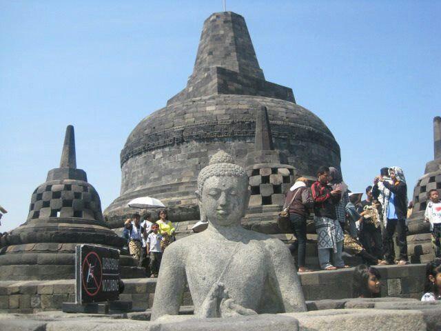 Borobudur Temple, Magelang Central Java ID
