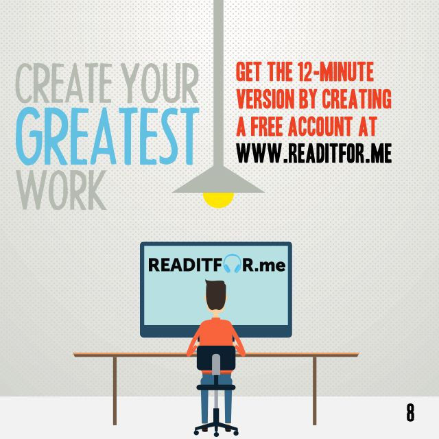 Grouped in 60 Seconds. Want the 12-minute version? Get a free Readitfor.me account.