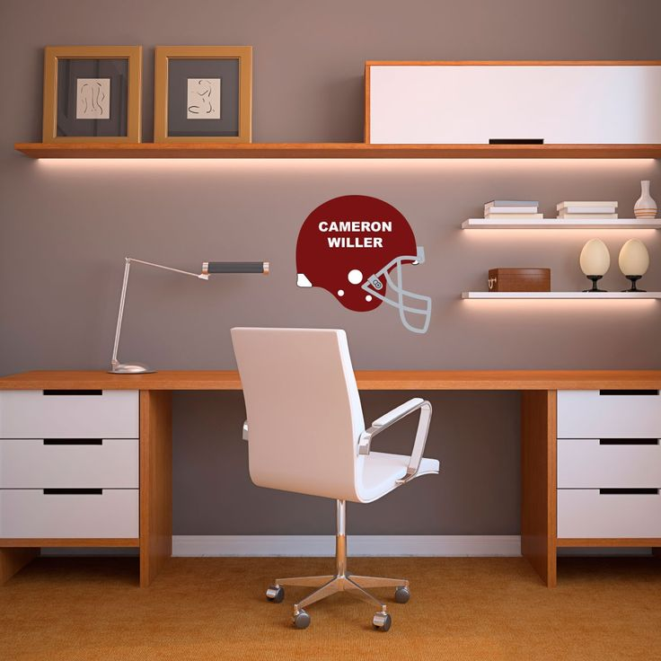 Personalized Football Helmet   Vinyl Wall Art Decal For Homes, Kids Rooms,  Nurseries, Gallery