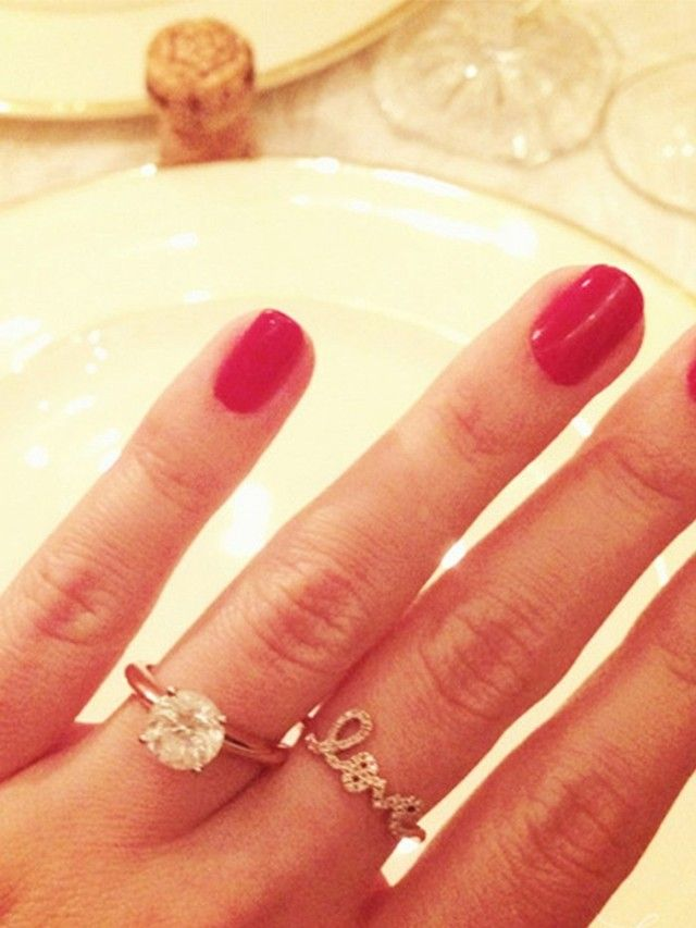 Lauren Conrad's diamond ring
