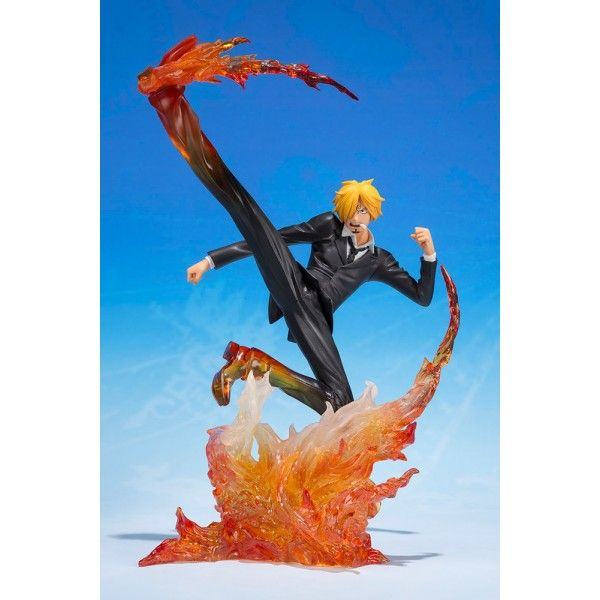 Figurine One Piece - Sanji Jambe Diable