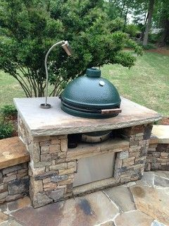 Fireside Outdoor Kitchens Evo Completed - traditional - patio - charlotte - by Fireside Outdoor Kitchens