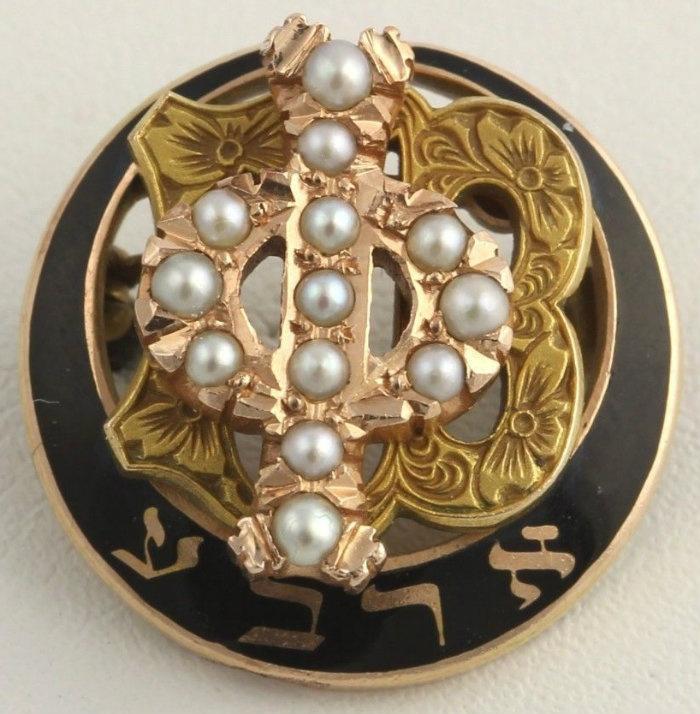 Gamma Phi Beta vintage badge. Oh my gosh, it's beautiful!
