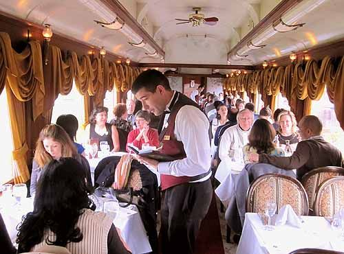 Whether it's your first time in Napa or you are a regular wine country visitor,The Napa Valley Wine Train will enchant you.  Take a quick journey on the nostalgic refurbished train - just like the aristocrats did during the days of the Wild West.  This is truly experiential dining - Ascend Hotel Collection® Napa Winery Inn #GoNative