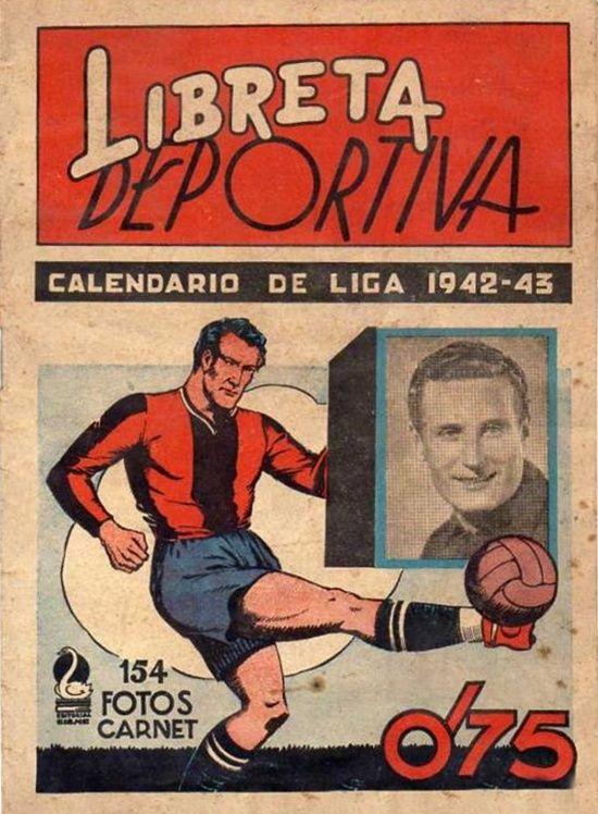 Cromos Editorial Cisne 1942-43. Liga Española.