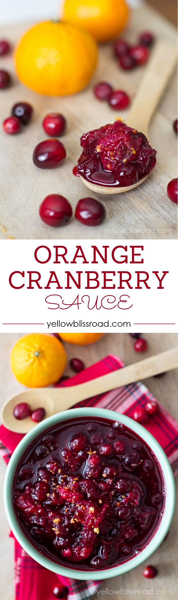 Orange Cranberry Sauce - Perfect for Thanksgiving or Christmas Dinner and especially for after Leftover Turkey Sandwiches!