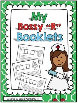 "My Bossy ""R"" Words-Interactive Phonics Books"
