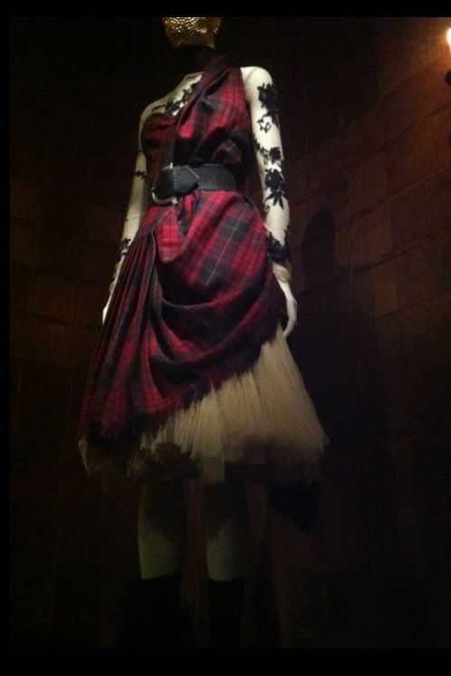 Highland Rape  -  the gesture in this alone could inspire a compelling gown